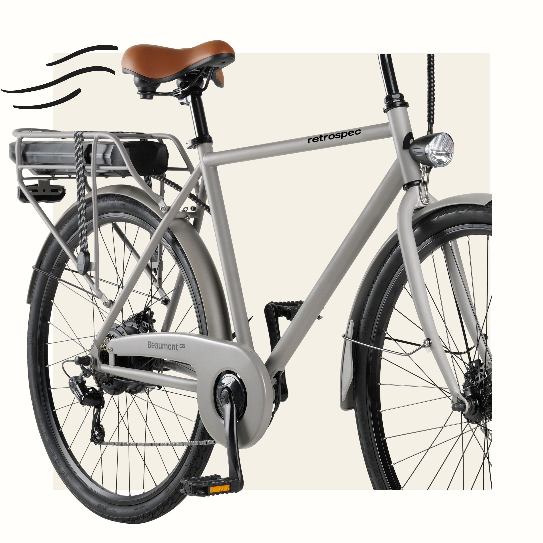 Beaumont Rev Electric Bike  Retrospec